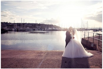 Coral Flowers, Lime Dresses and a Sea View: Berry Head Hotel Wedding