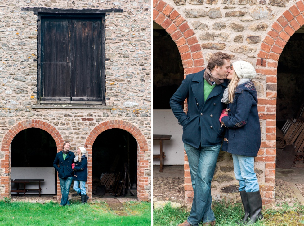 pre wedding engagement session english countryside