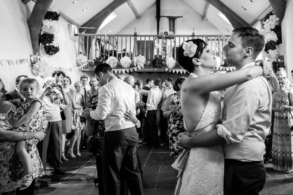 Wedding at The Oak Barn Devon