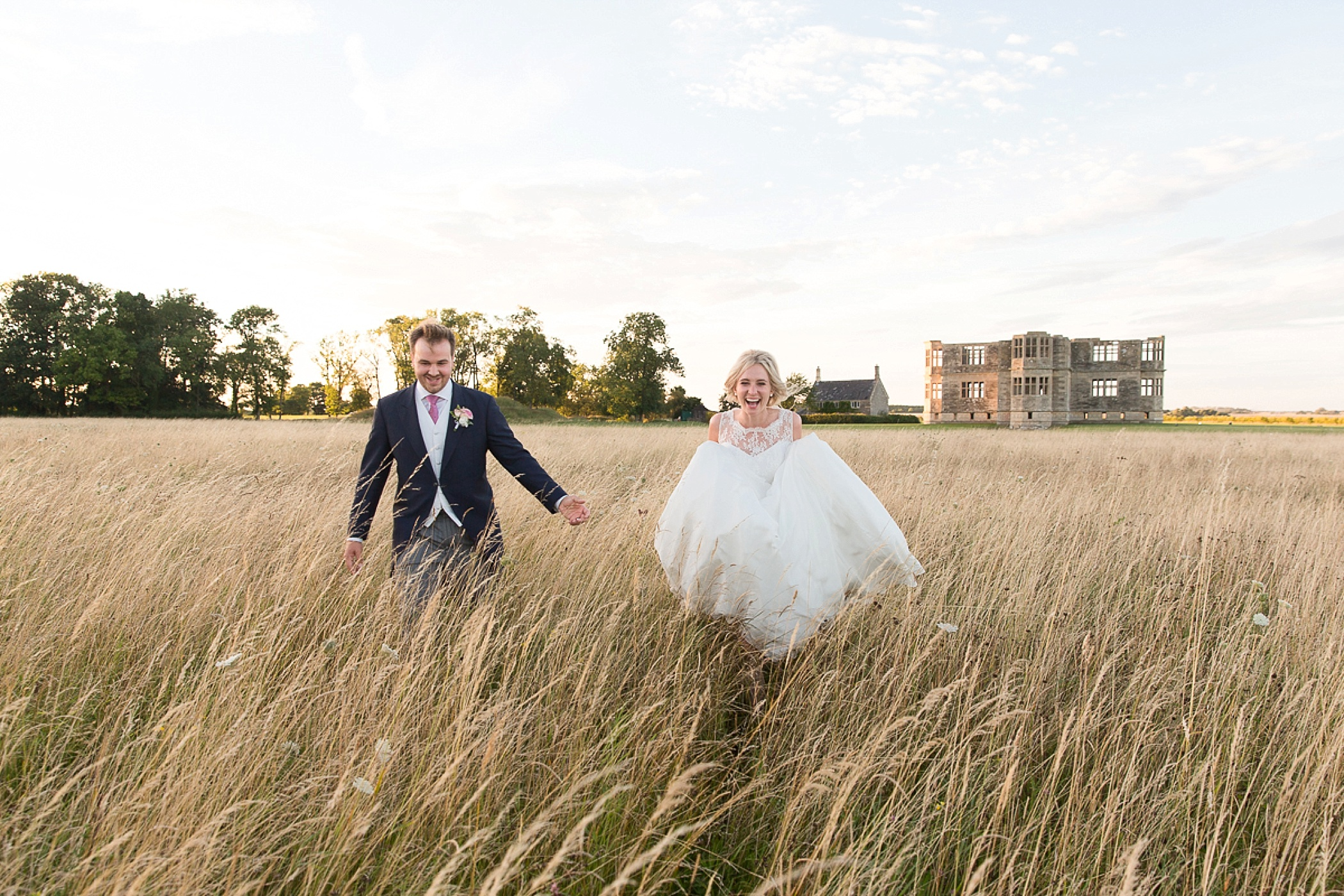 Lyveden New Bield Wedding Field