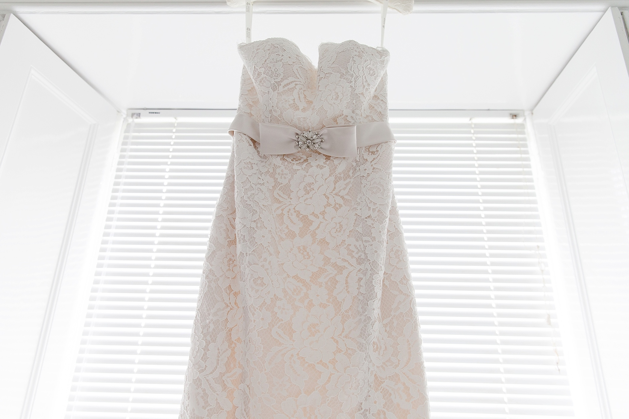 wedding dress at Colehayes
