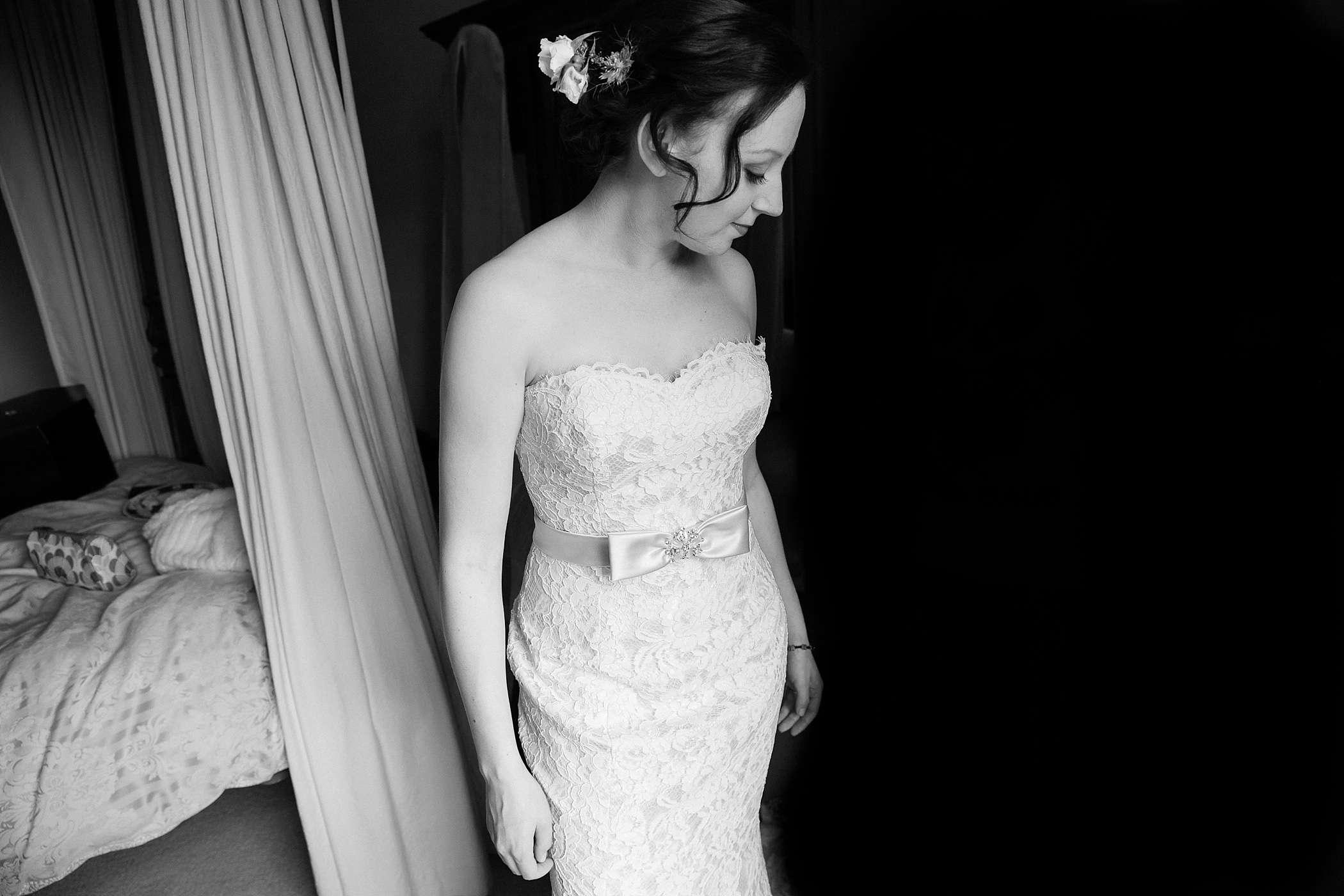 bride at Colehayes Park