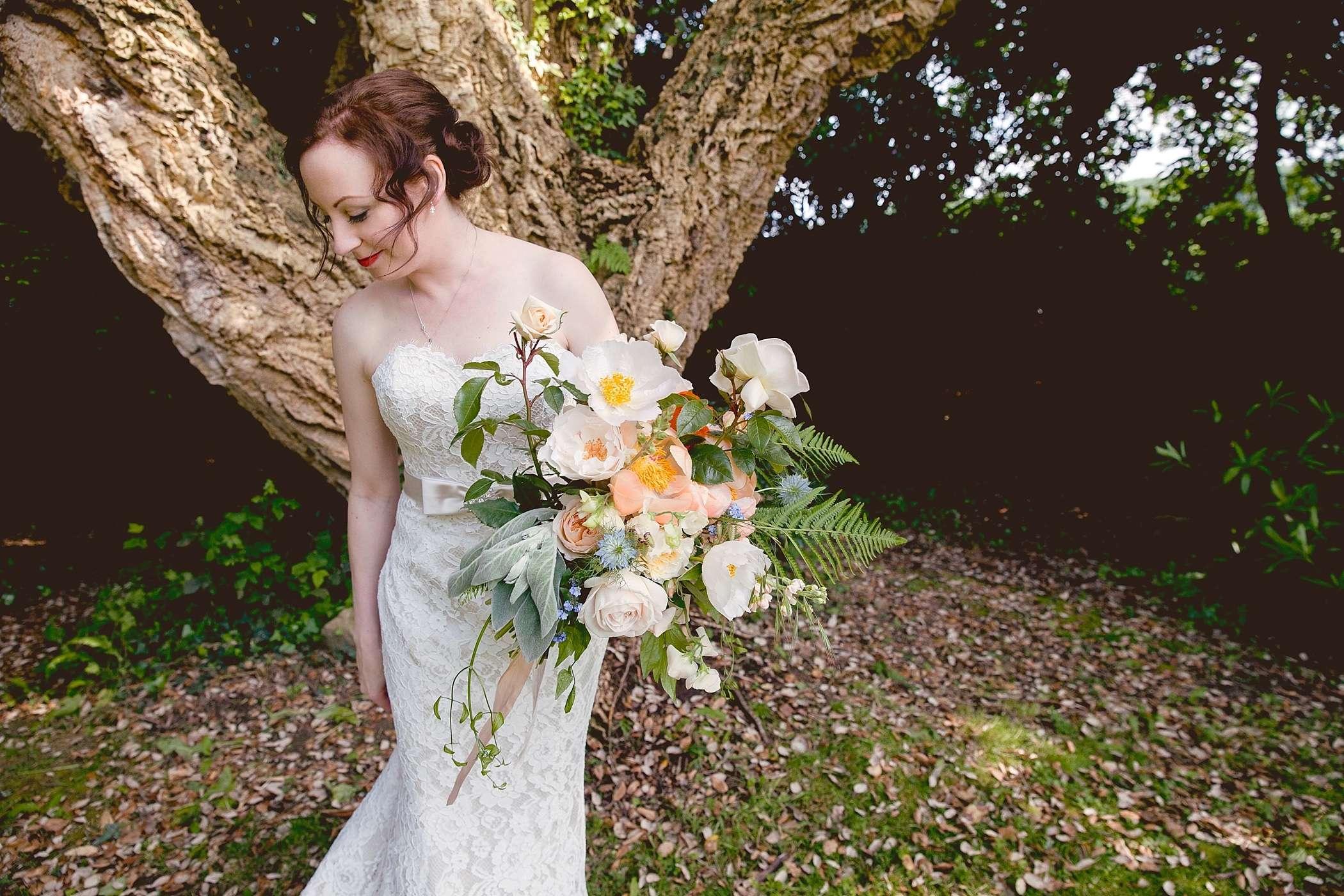Colehayes Park bride portrait
