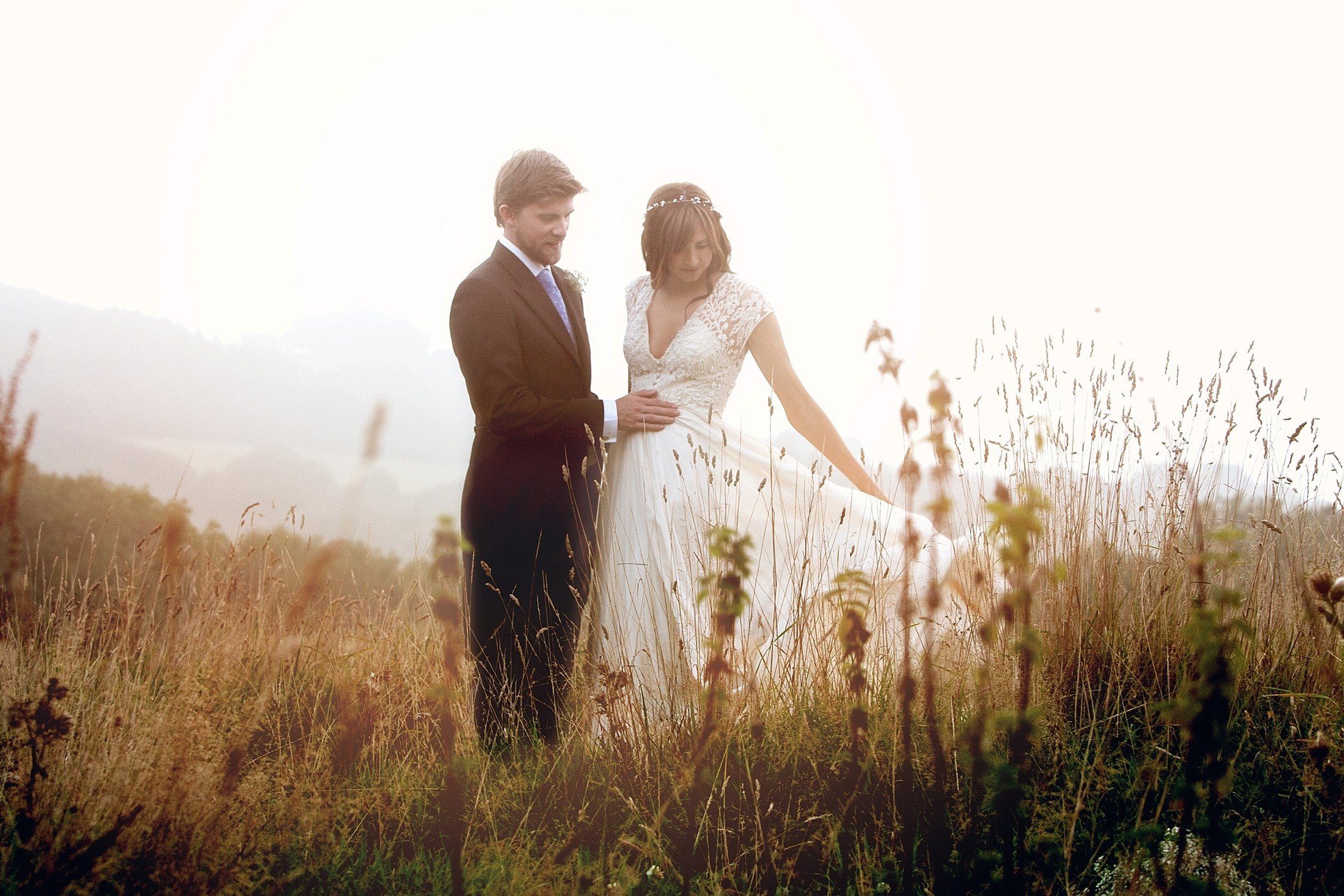 Summer wedding at River Cottage