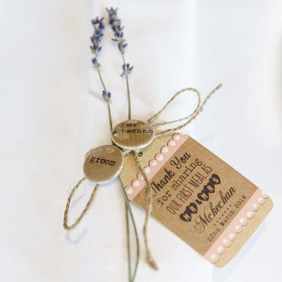lovely wedding favour ideas