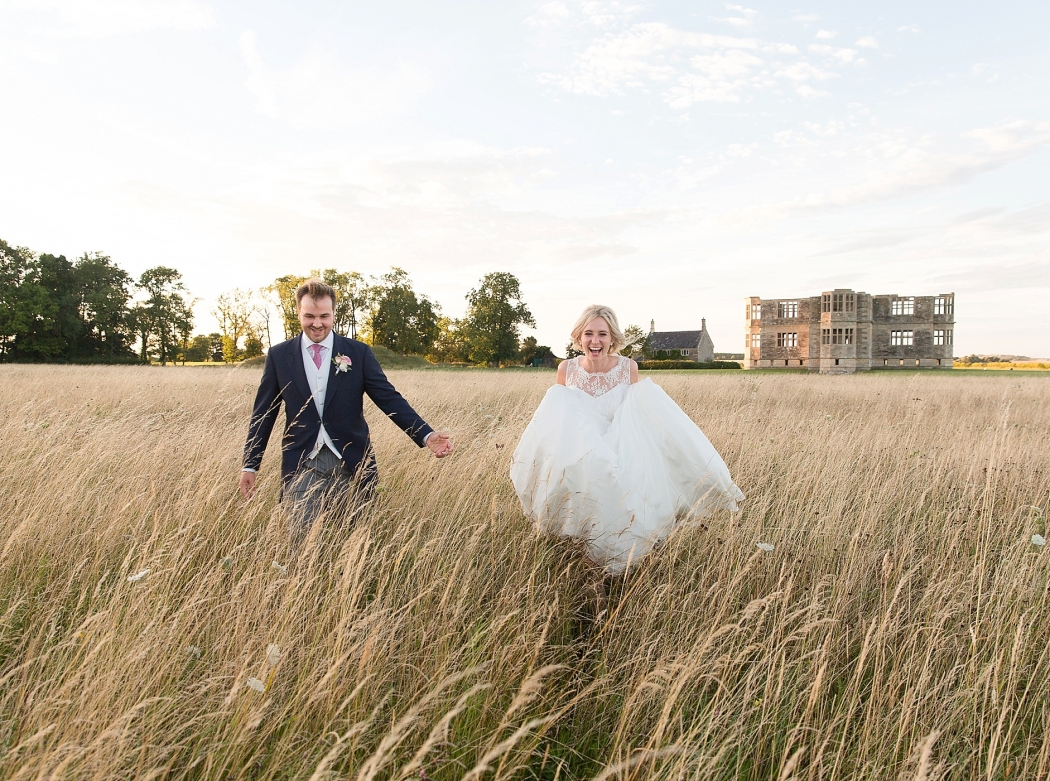 Lyveden New Bield summer wedding