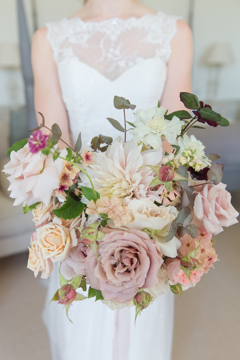 Pynes House Wedding wedding bouquet