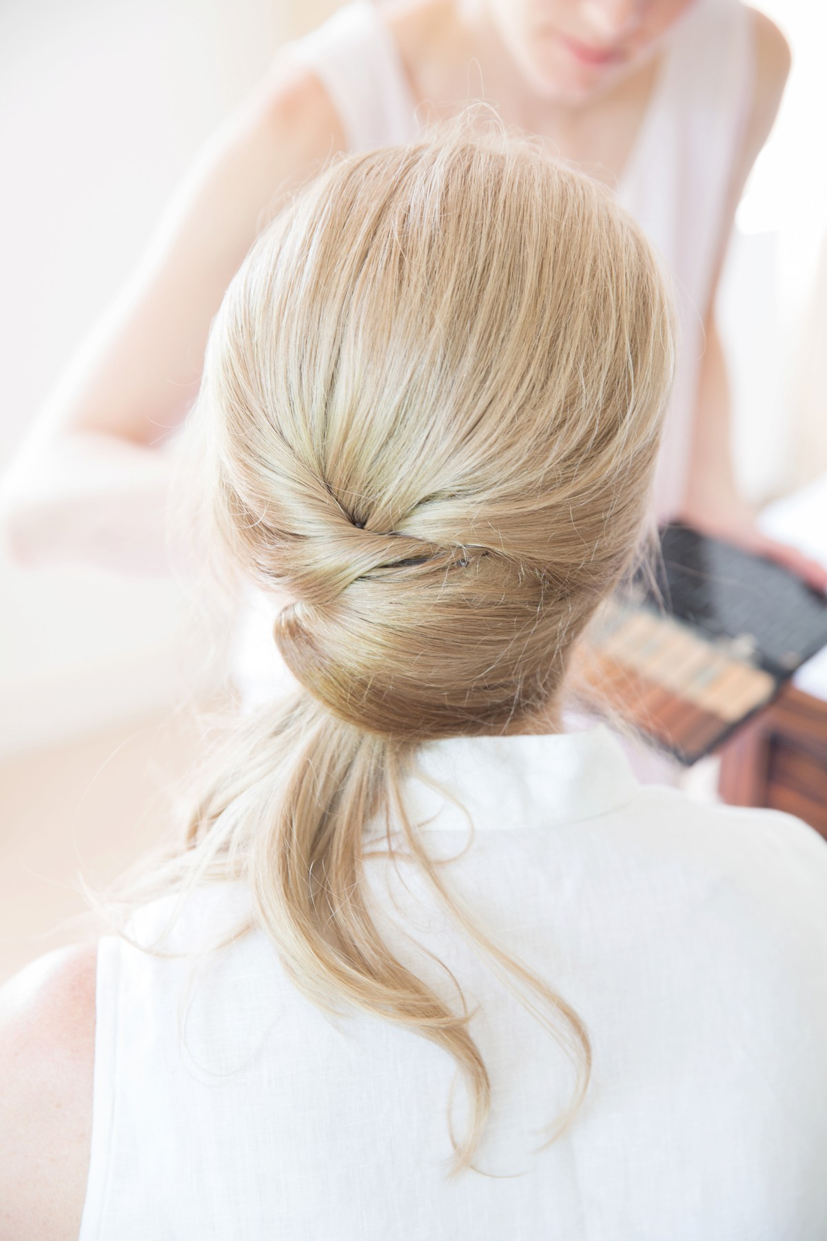 wedding hairstyle half updo