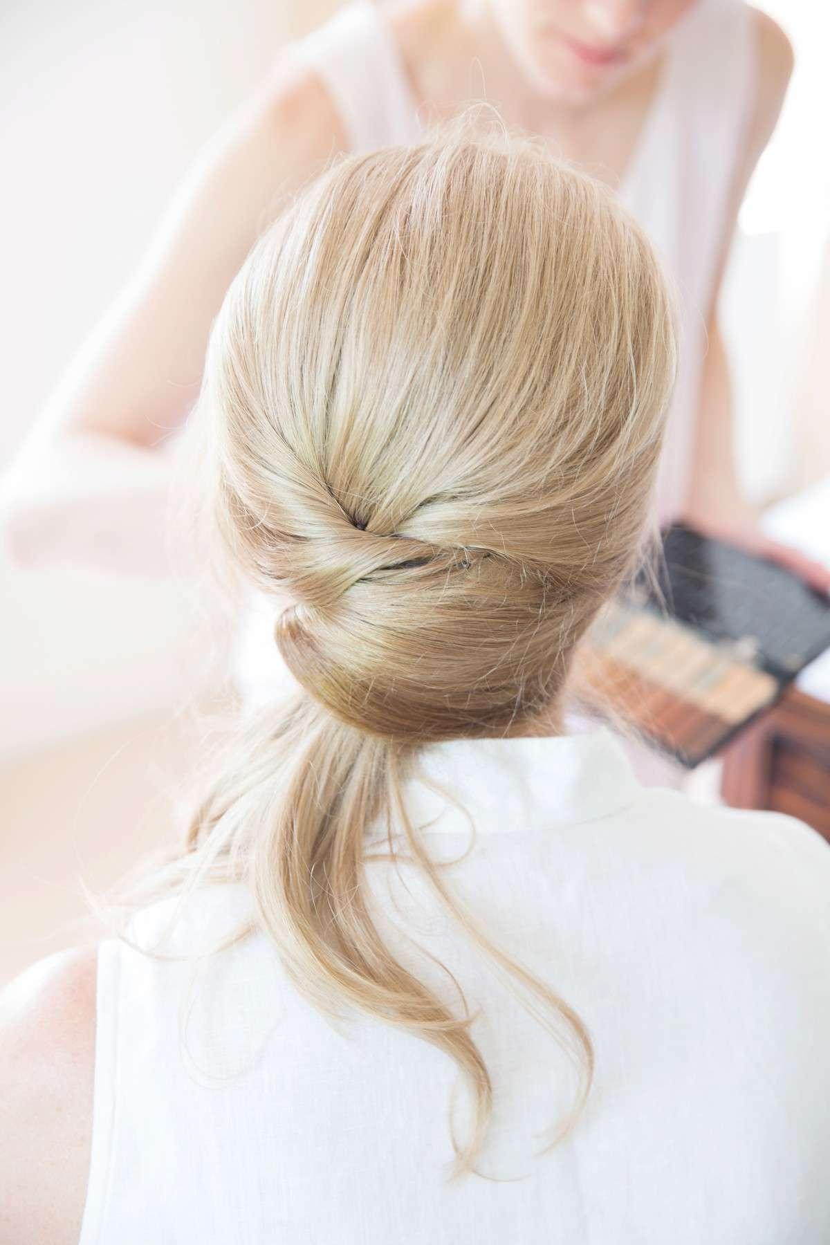 wedding hairstyle half updo