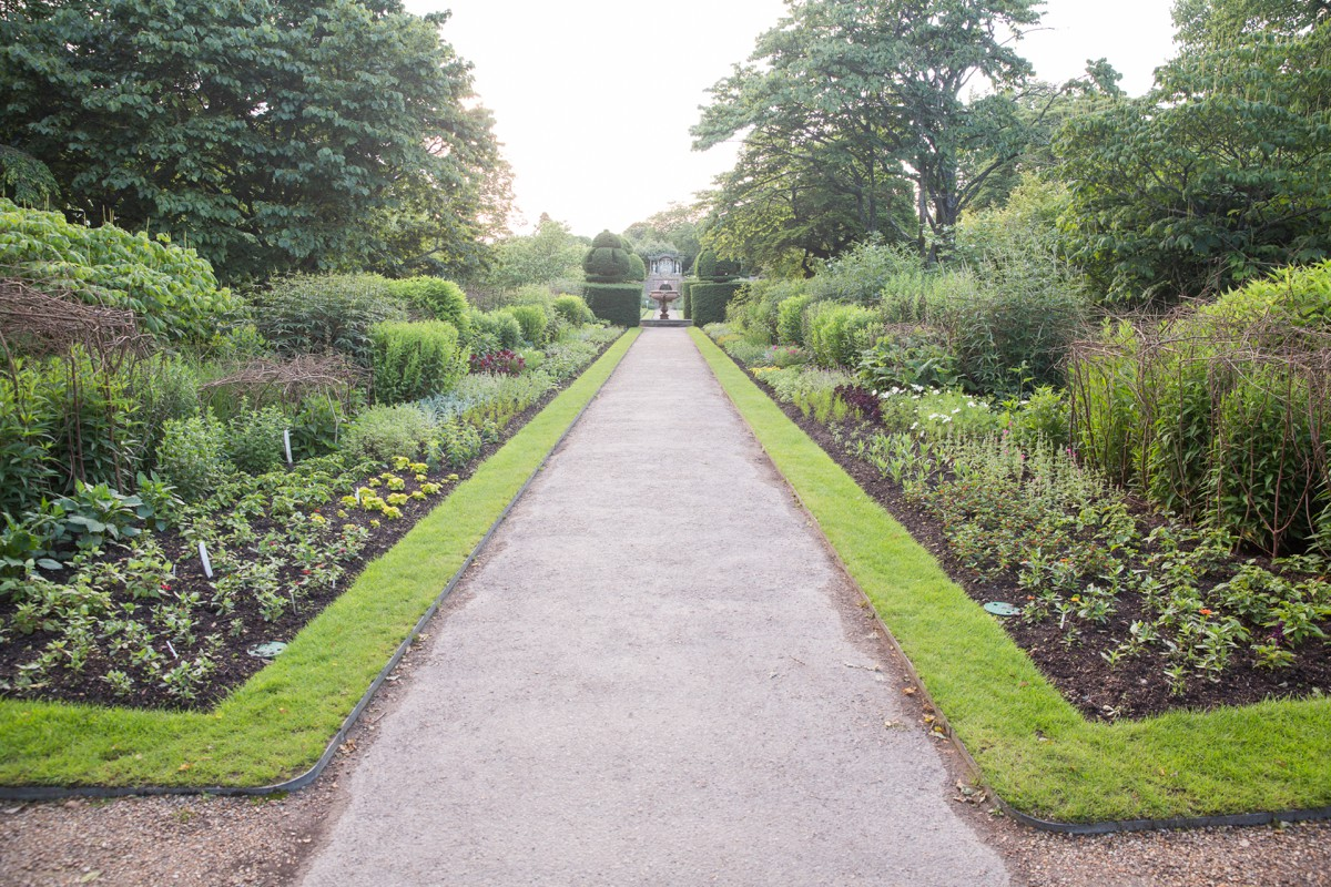The gardens at Nymans House