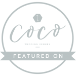 Coco wedding venues badge