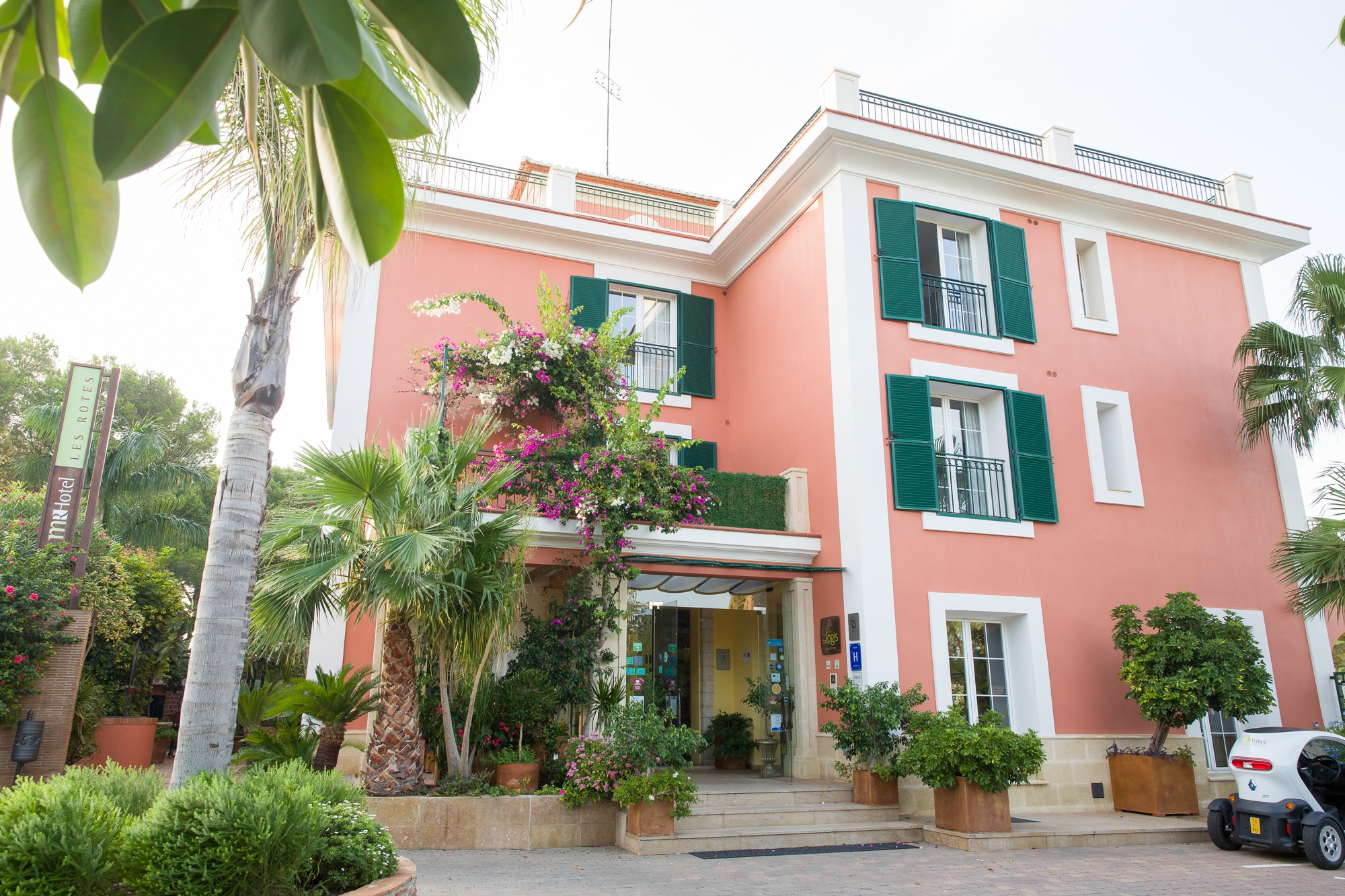 Hotel Les Rotes in Denia, Spain
