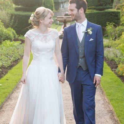 wedding at Nymans Garden